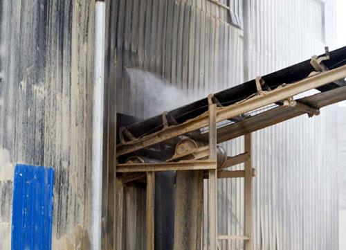 合川盐井砂石材料厂矿山喷雾降尘系统