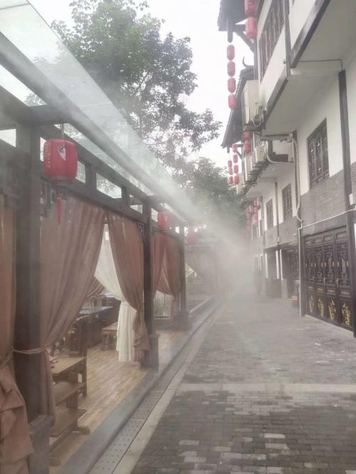 餐厅喷雾降温